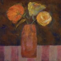 """Orange Olive by Carolyn Holman - 12"""" x 12"""""""