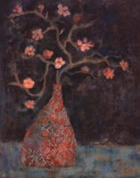 "Jade Cherry by Carolyn Holman - 16"" x 20"", FulcrumGallery.com brand"