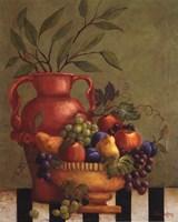 Fresco Fruit I - Mini Fine Art Print