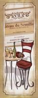 "Vin Blanc by Andrea Laliberte - 8"" x 20"""