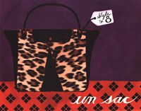 Leopard Handbag IV Fine Art Print