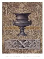 Gothic Quatrefoil 2 Framed Print