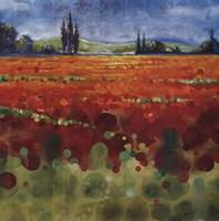 """Spring Meadows II by Selina Werbelow - 36"""" x 36"""""""