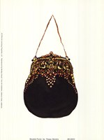 Beaded Purse Fine Art Print