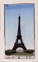 World Landmark Paris Framed Print