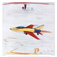 "Jet by Paul Gibson - 13"" x 13"", FulcrumGallery.com brand"