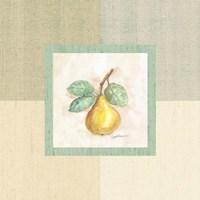 "Pear Inside by Peggy Abrams - 9"" x 9"", FulcrumGallery.com brand"