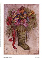 Santa's Stocking Fine Art Print