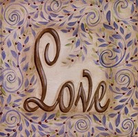 "Love by Kate McRostie - 10"" x 10"""