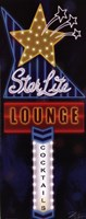 Star Lite Lounge Fine Art Print