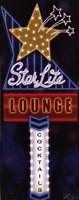 Star Lite Lounge Framed Print