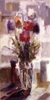 """Floral I by Jillian Jeffrey - 10"""" x 20"""""""