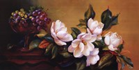 Magnolia With Grapes Fine Art Print