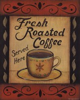 Fresh Roasted Coffee Fine Art Print