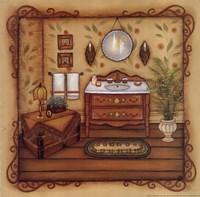 "Vintage Sink by Kim Lewis - 12"" x 12"", FulcrumGallery.com brand"