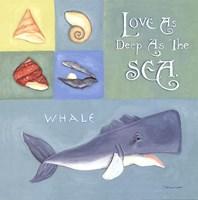 Love As Deep As The Sea Fine Art Print