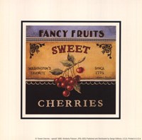 Sweet Cherries - Special Framed Print