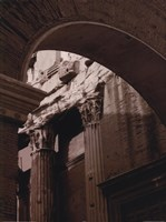 Ancient Building With Archway Fine Art Print