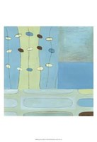 "Egg Hunt In Blue II by June Erica Vess - 13"" x 19"", FulcrumGallery.com brand"