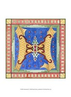 "Ornamental H by Pamela Shirley - 10"" x 13"" - $10.49"