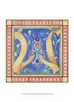 "Ornamental W by Pamela Shirley - 10"" x 13"""