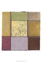 """Bamboo In Plum by Jillian Jeffrey - 13"""" x 19"""""""
