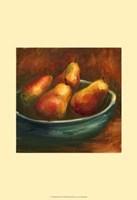 Rustic Fruit I Framed Print