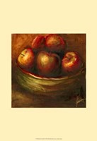 Rustic Fruit III Framed Print