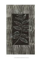 "Traces Of Metallic Teal II by Nancy Slocum - 13"" x 19"""