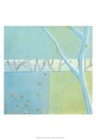 Blue Arbor I Framed Print