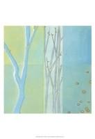 Blue Arbor II Framed Print