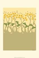 Organic Grove III Framed Print