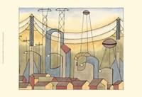 Urban Suburban No1 Fine Art Print