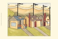 Urban Suburban No4 Fine Art Print