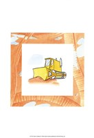 Charlie's Bulldozer Fine Art Print