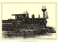 "Locomotive III by Jillian Jeffrey - 13"" x 10"""