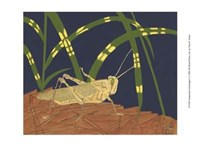 "Ornamental Grasshopper I by Nina Tenser - 13"" x 10"" - $10.49"
