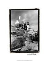 "Pemaquid Point Light, Maine II by Laura Denardo - 16"" x 20"""