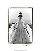 "Marshall Point Light, Maine by Laura Denardo - 16"" x 20"""