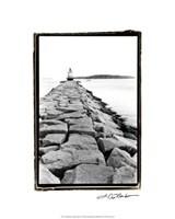 "Spring Point Light, Maine II by Laura Denardo - 16"" x 20"""