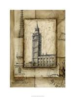 """Passport To Big Ben by Ethan Harper - 23"""" x 30"""""""