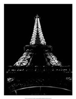 "Tour Eiffel La Nuit by H. Jennings Sheffield - 20"" x 26"""