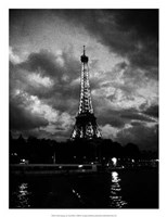 "Nuit Orageuse Au Tour Eiffel by H. Jennings Sheffield - 20"" x 26"""