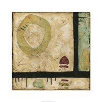 "Stone Tile II by Nancy Slocum - 26"" x 26"""