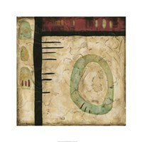 "Stone Tile IV by Nancy Slocum - 26"" x 26"""