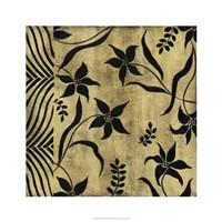 "Petals And Herringbone II by Nancy Slocum - 26"" x 26"" - $64.99"