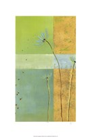 "Blue Seedlings II by June Erica Vess - 18"" x 26"" - $38.99"
