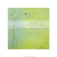 "Blue Seedlings III by June Erica Vess - 22"" x 22"""