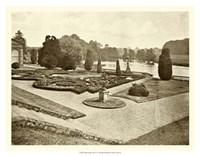 """Sepia Garden View III by Jillian Jeffrey - 18"""" x 14"""""""