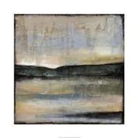 "Misty Horizon I by Jennifer Goldberger - 30"" x 30"", FulcrumGallery.com brand"